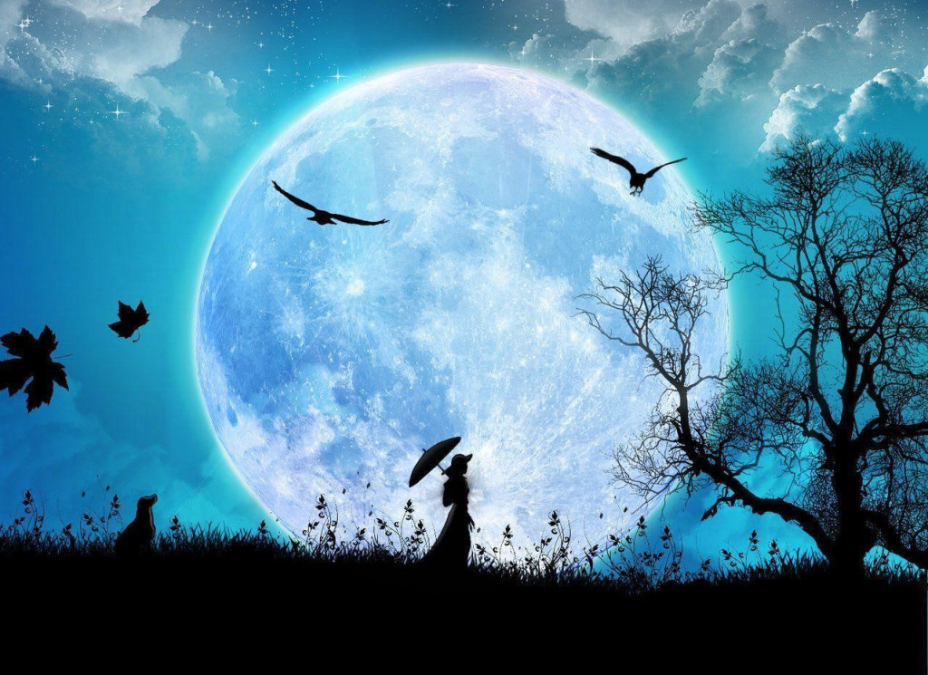 Full Moon Transits